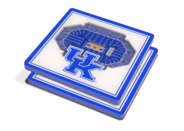 You the Fan Kentucky Wildcats 3D Stadium Views Coaster Set product image