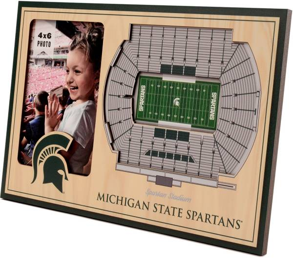 You the Fan Michigan State Spartans 3D Picture Frame product image
