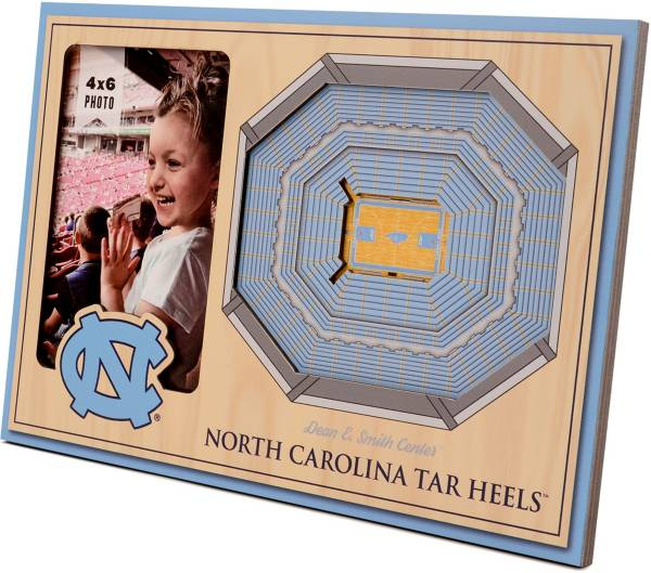 You the Fan North Carolina Tar Heels 3D Picture Frame product image
