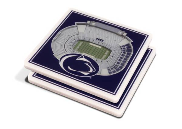 You the Fan Penn State Nittany Lions 3D Stadium Views Coaster Set product image