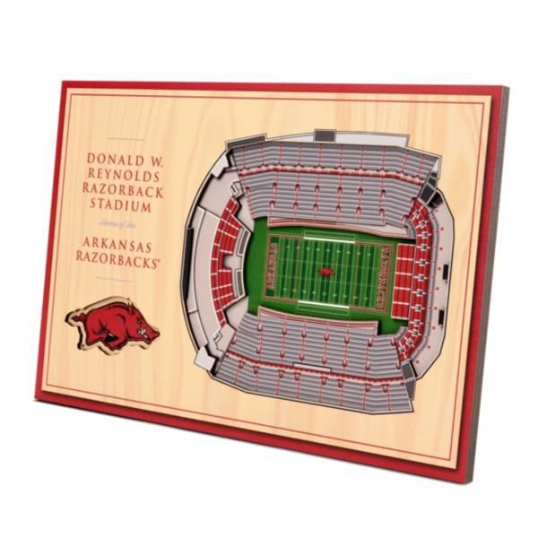 You the Fan Arkansas Razorbacks Stadium Views Desktop 3D Picture product image