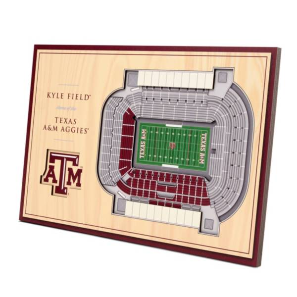 You the Fan Texas A&M Aggies Stadium Views Desktop 3D Picture product image