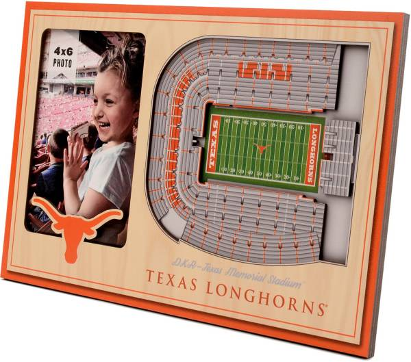 You the Fan Texas Longhorns 3D Picture Frame product image