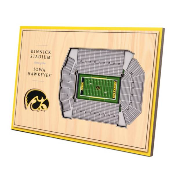 You the Fan Iowa Hawkeyes Stadium Views Desktop 3D Picture product image