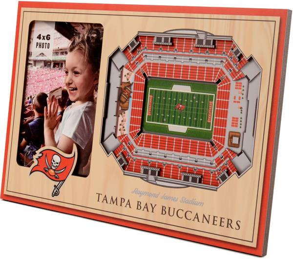 You the Fan Tampa Bay Buccaneers 3D Picture Frame product image