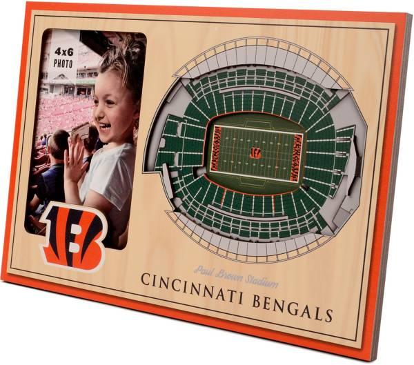 You the Fan Cincinnati Bengals 3D Picture Frame product image