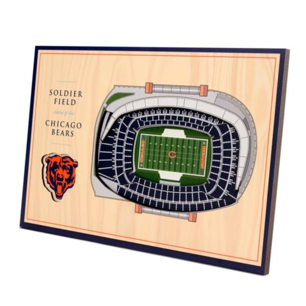 You the Fan Chicago Bears Stadium Views Desktop 3D Picture product image