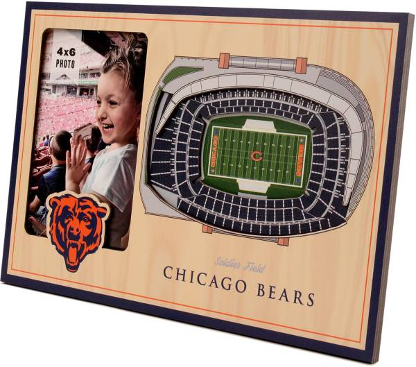 You the Fan Chicago Bears 3D Picture Frame product image