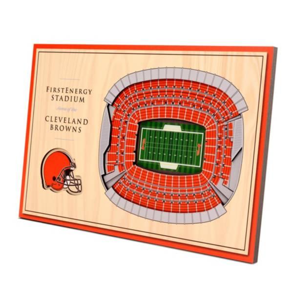 You the Fan Cleveland Browns Stadium Views Desktop 3D Picture product image