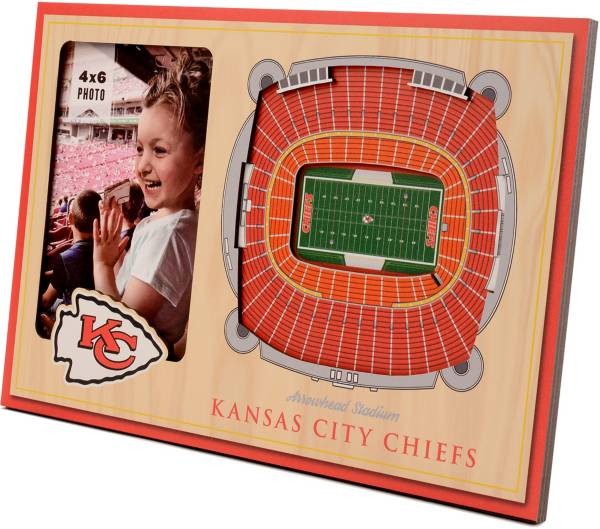 You the Fan Kansas City Chiefs 3D Picture Frame product image