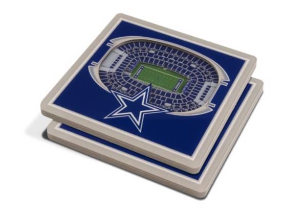 You the Fan Dallas Cowboys 3D Stadium Views Coaster Set product image