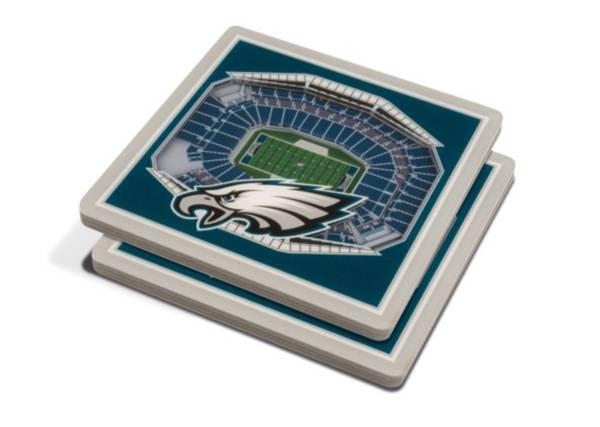 You the Fan Philadelphia Eagles 3D Stadium Views Coaster Set product image