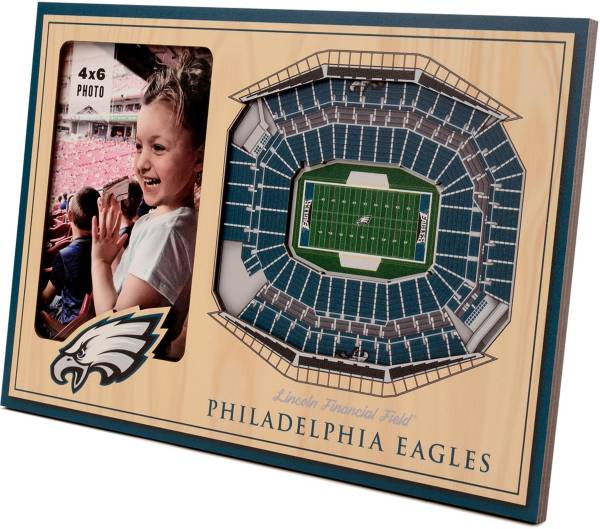 You the Fan Philadelphia Eagles 3D Picture Frame product image