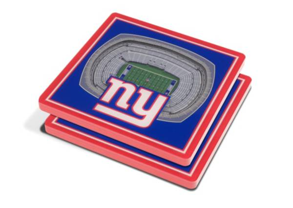 You the Fan New York Giants 3D Stadium Views Coaster Set product image