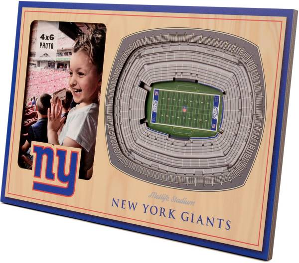 You the Fan New York Giants 3D Picture Frame product image