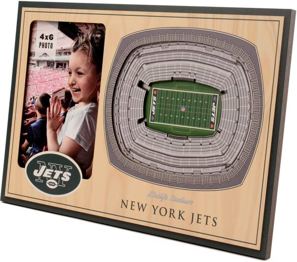You the Fan New York Jets 3D Picture Frame product image