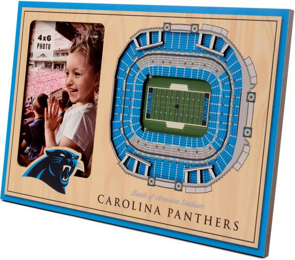 You the Fan Carolina Panthers 3D Picture Frame product image