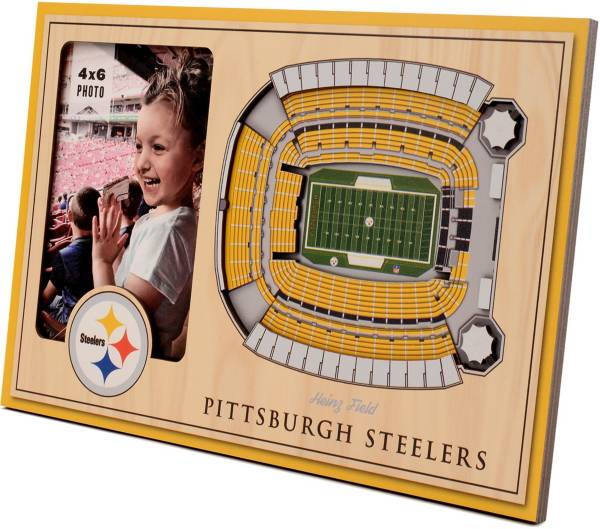 You the Fan Pittsburgh Steelers 3D Picture Frame product image