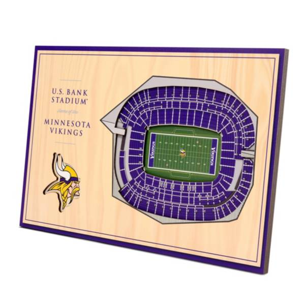 You the Fan Minnesota Vikings Stadium Views Desktop 3D Picture product image