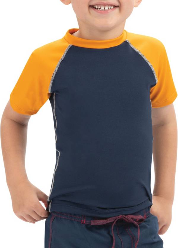 Dolfin Boys' Color Block Short Sleeve Rash Guard product image
