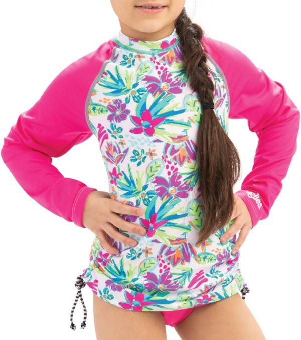 Dolfin Girls' Long Sleeve Rash Guard product image