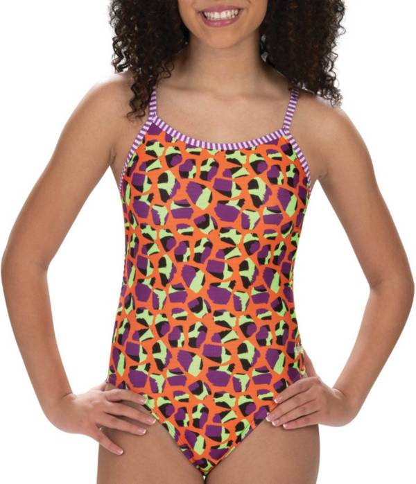 Dolfin Women's Uglies Print String Back One Piece Swimsuit product image