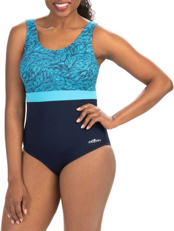Dolfin Women's Aquashape Moderate Scoop Back One Piece Swimsuit product image