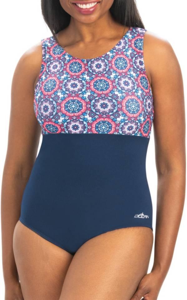 Dolfin Women's Aquashape High Clasp Neck Swimsuit product image