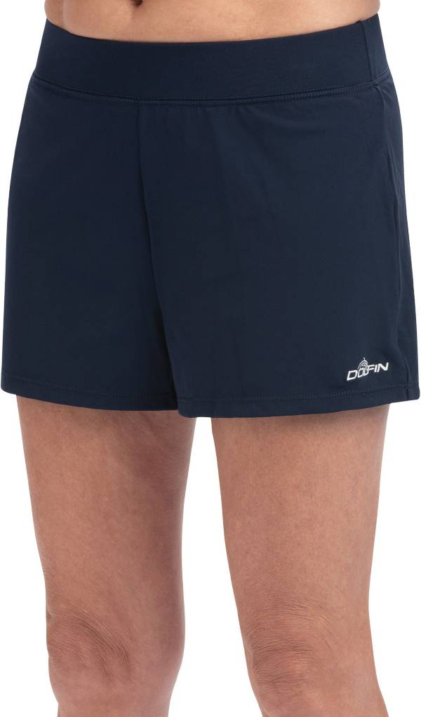 Dolfin Women's Aquashape Solid Loose Fit Swim Shorts product image