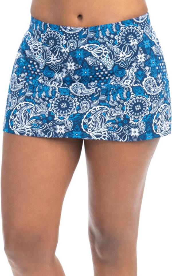 Dolfin Women's Aquashape Print A-Line Swim Skirt product image