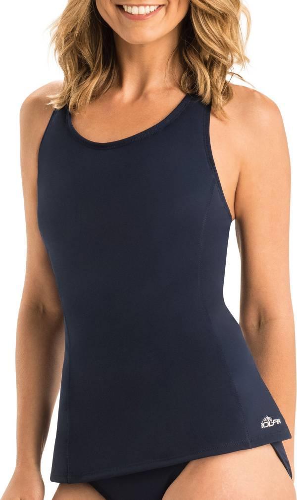 Dolfin Women's Aquashape Solid Racerback Tankini Top product image