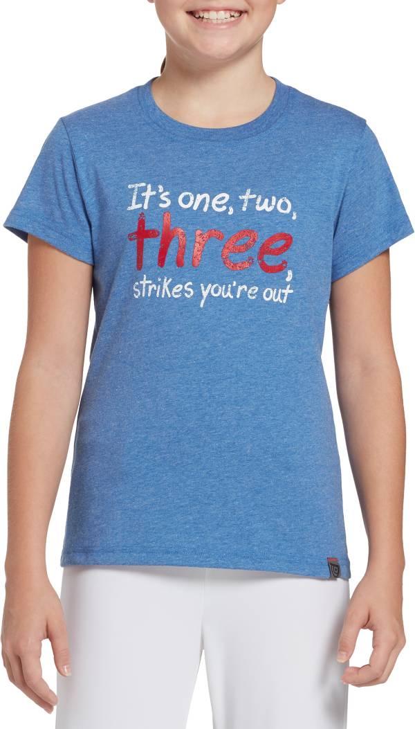DICK'S Sporting Goods Girls' Ball Park Series Softball Graphic T-Shirt product image