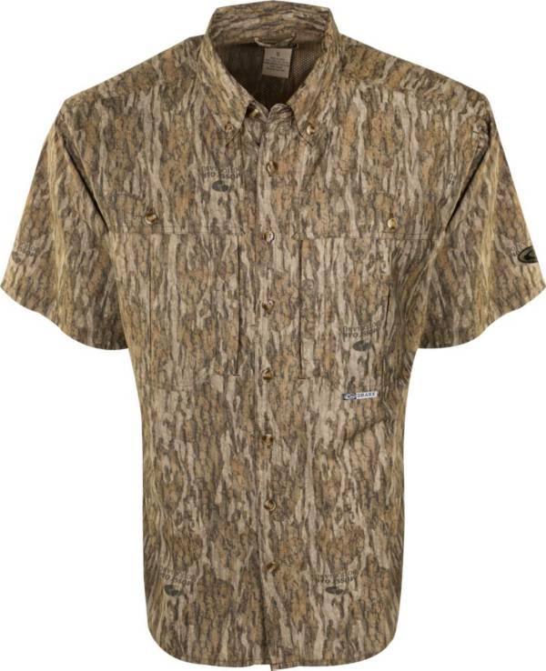 Drake Waterfowl Men's Camo Flyweight Wingshooter's Short Sleeve Hunting Shirt product image
