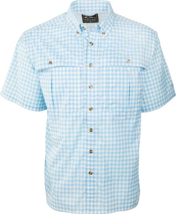 Drake Waterfowl Men's FeatherLite Plaid Wingshooter Short Sleeve Button Down Shirt product image