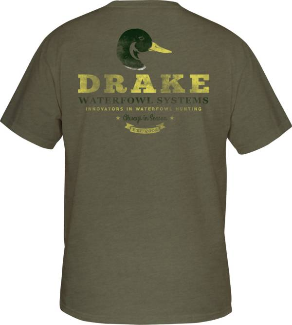 Drake Waterfowl Men's Greenhead Short Sleeve T-Shirt product image