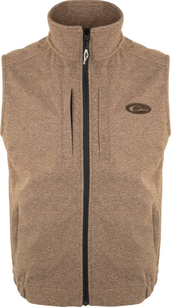 Drake Waterfowl Men's Heather Windproof Layering Vest (Regular and Big & Tall) product image