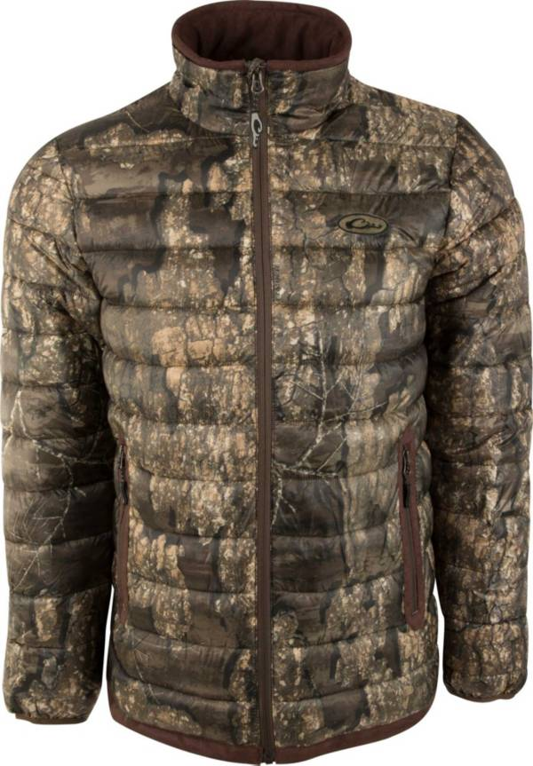 Drake Waterfowl Men's Camo Double Down Layering Full Zip Hunting Jacket product image