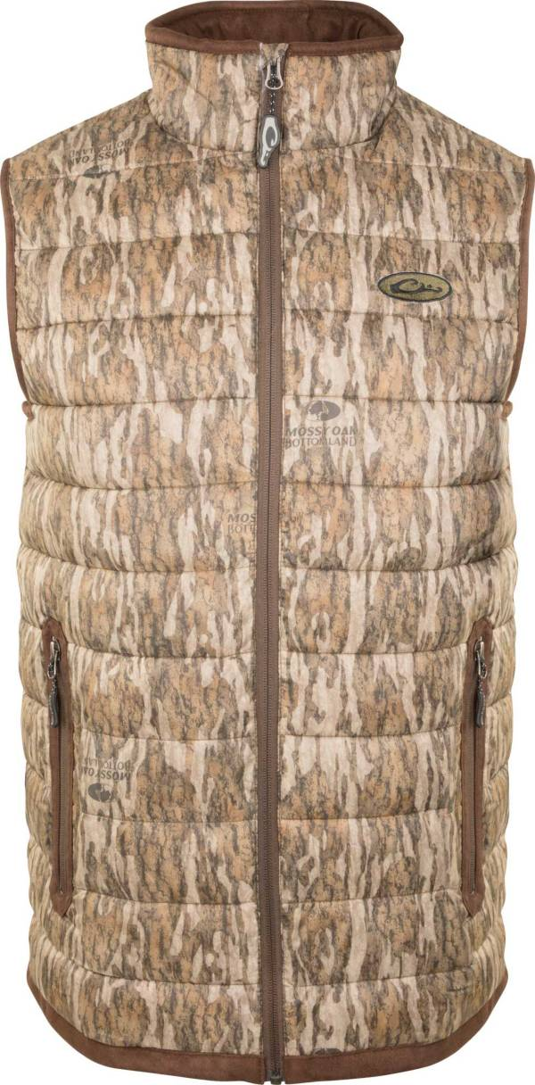 Drake Waterfowl Men's Camo Double Down Layering Hunting Vest product image