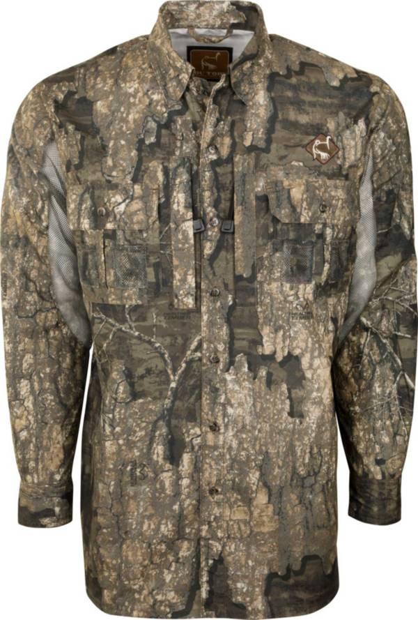 Drake Waterfowl Vestless Mesh Back Shirt with Spine Pad product image