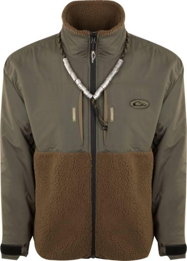Drake Waterfowl Men's Guardian Flex Sherpa Fleece Eqwader Full Zip Hunting Jacket product image