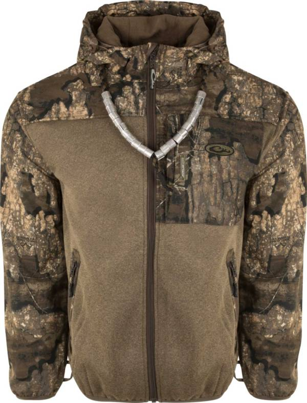 Drake Waterfowl Endurance Hybrid Liner Hunting Full Zip Hooded Hunting Jacket product image