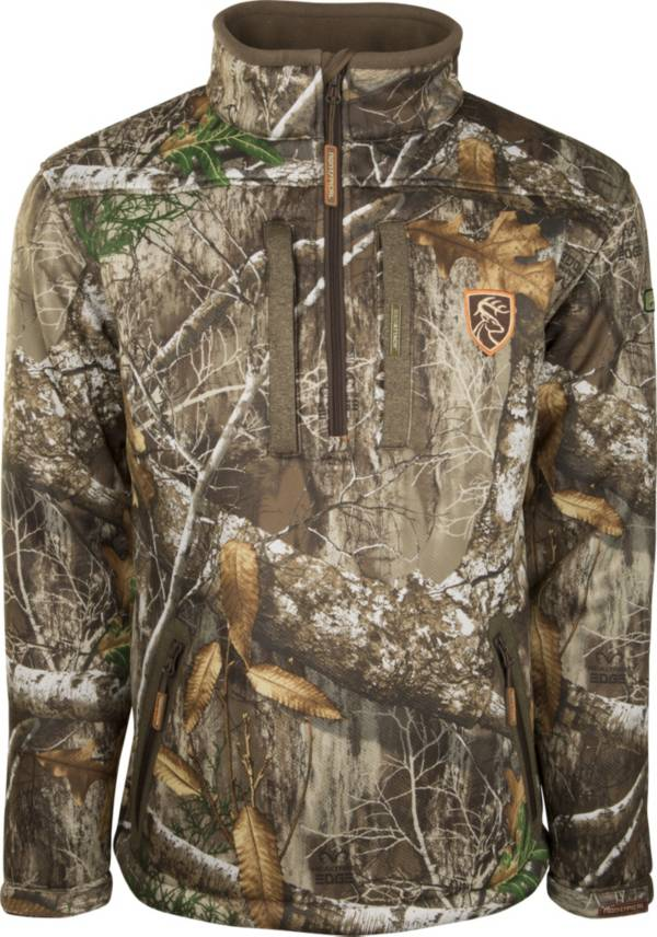 Drake Waterfowl Men's Non-Typical Silencer 1/4 Zip Jacket Full Camo with Agion Active XL product image
