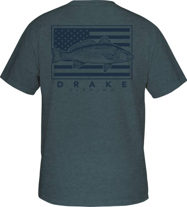 Drake Waterfowl Women's Fishing Patriotic Short Sleeve T-Shirt product image