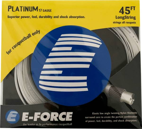 E-Force Platinum 17 Gauge Racquetball String product image