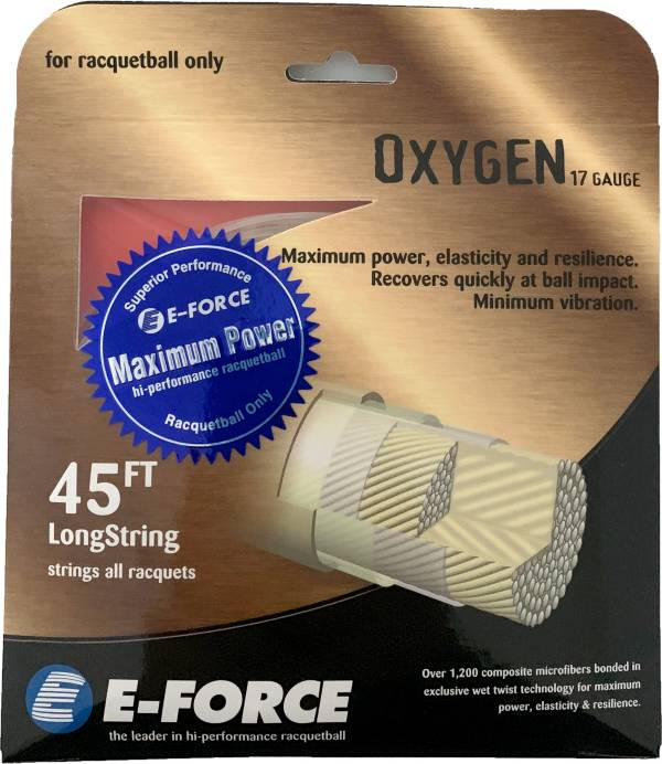 E-Force Oxygen 17 Gauge Racquetball String product image
