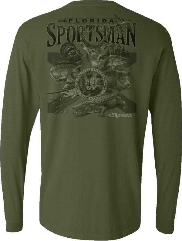 Flogrown Men's Florida Sportsman Long Sleeve T-Shirt product image
