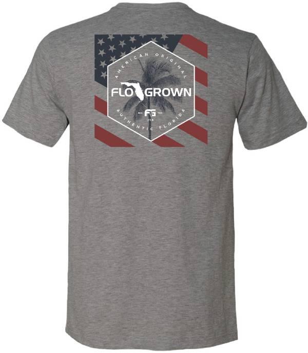 FloGrown Men's Polygon USA Flag T-Shirt product image