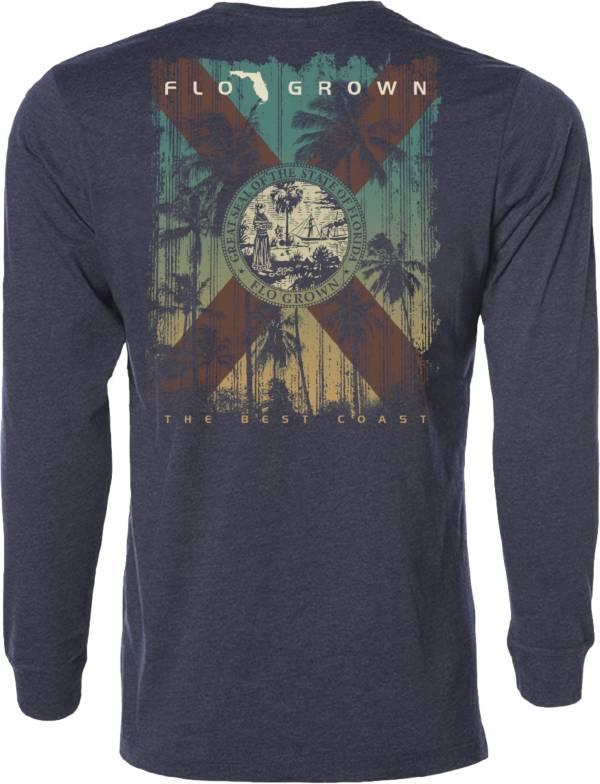 Flogrown Men's Sunset Flag Long Sleeve T-Shirt product image