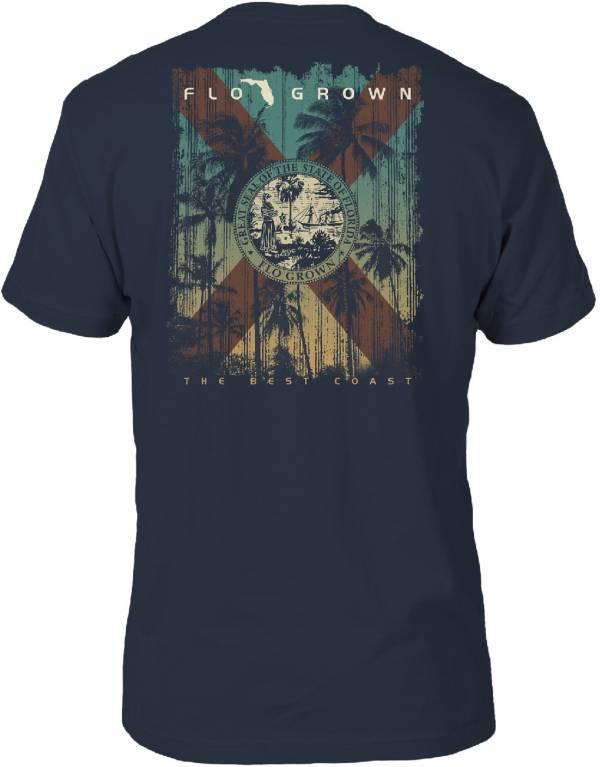 FloGrown Men's Sunset Flag T-Shirt product image