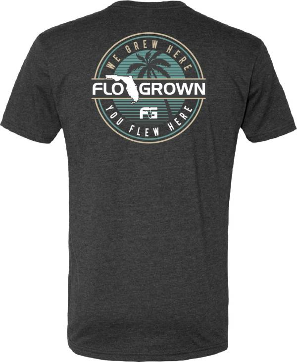 FloGrown Men's Tropical Circle T-Shirt product image